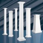 fiberglass columns,craftsman column,tapered column