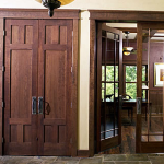eight foot interior doors,8' interior doors,stained interior doors